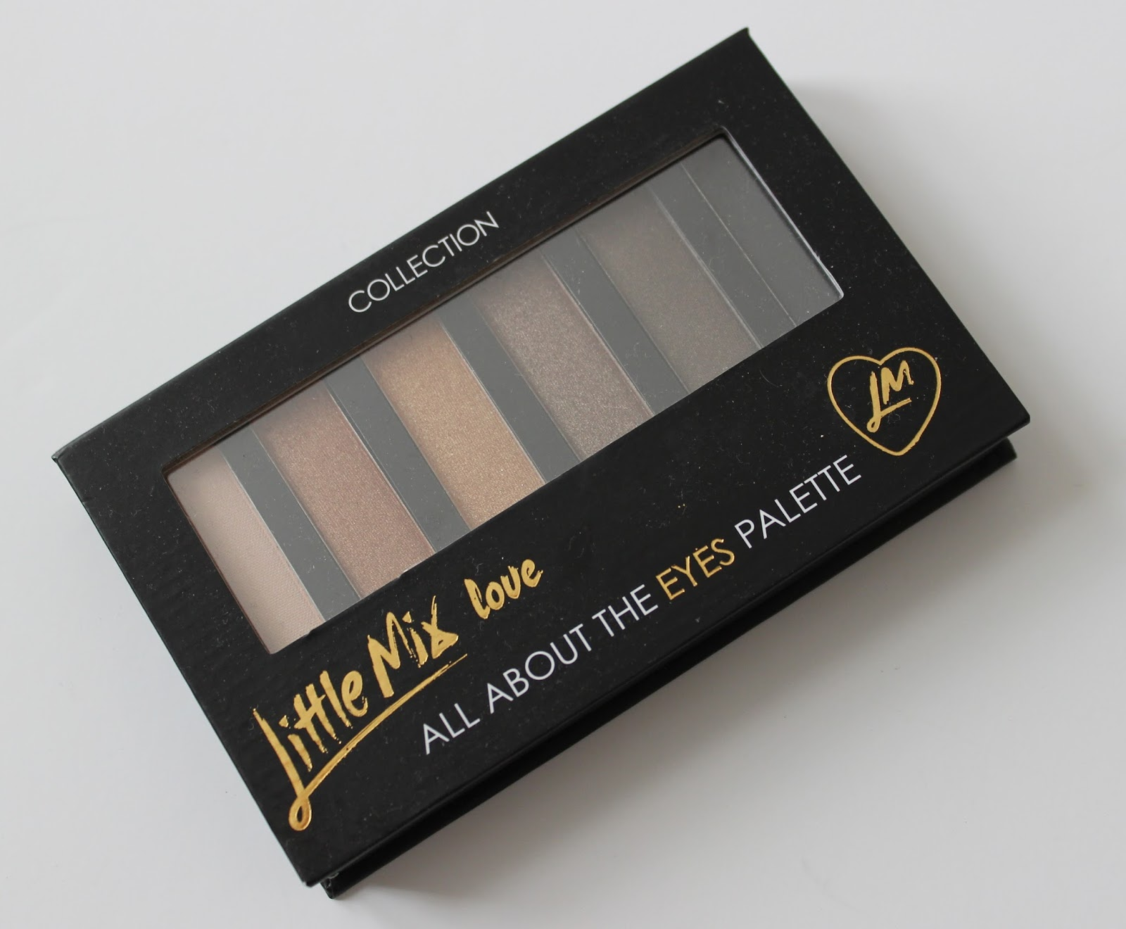 Collection Little Mix loves eye shadow palette