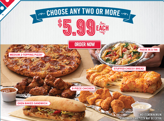 Dominos sides coupons