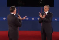 The Candidates at the 2nd 2012 Presidential Debate