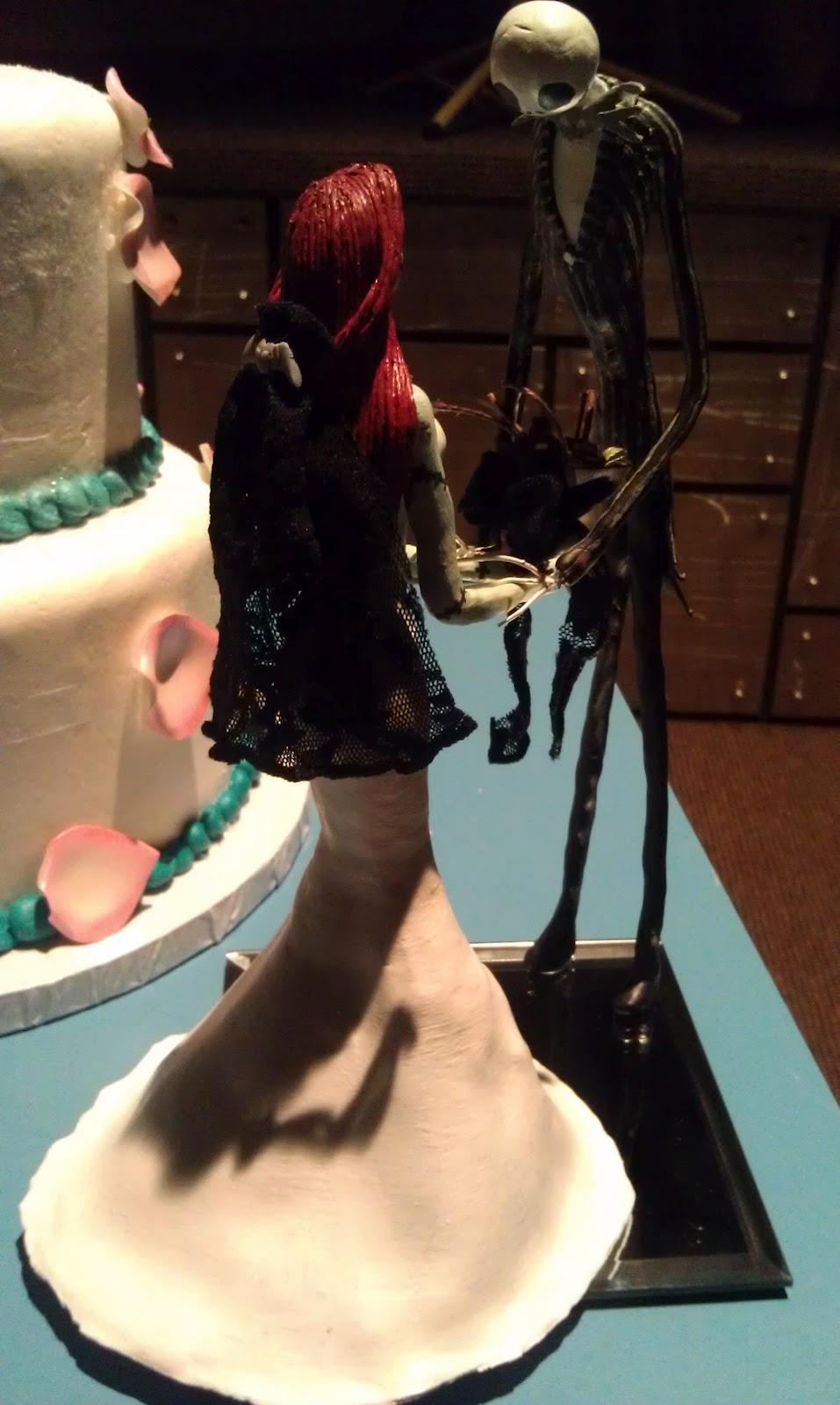 Rachel\'s Perplex-Files: Nightmare Before Christmas Wedding Cake \