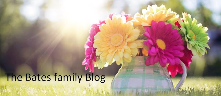 The Bates family blog