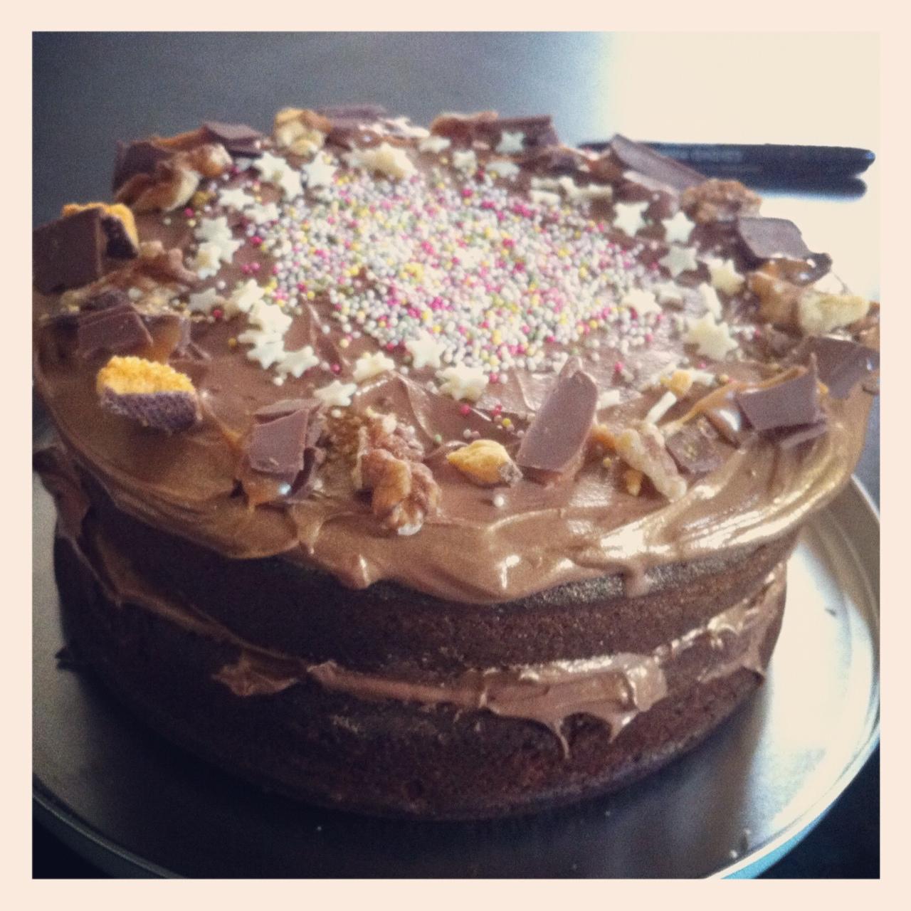 Bake Super Massive Chocolate Birthday Cake Cici Marie
