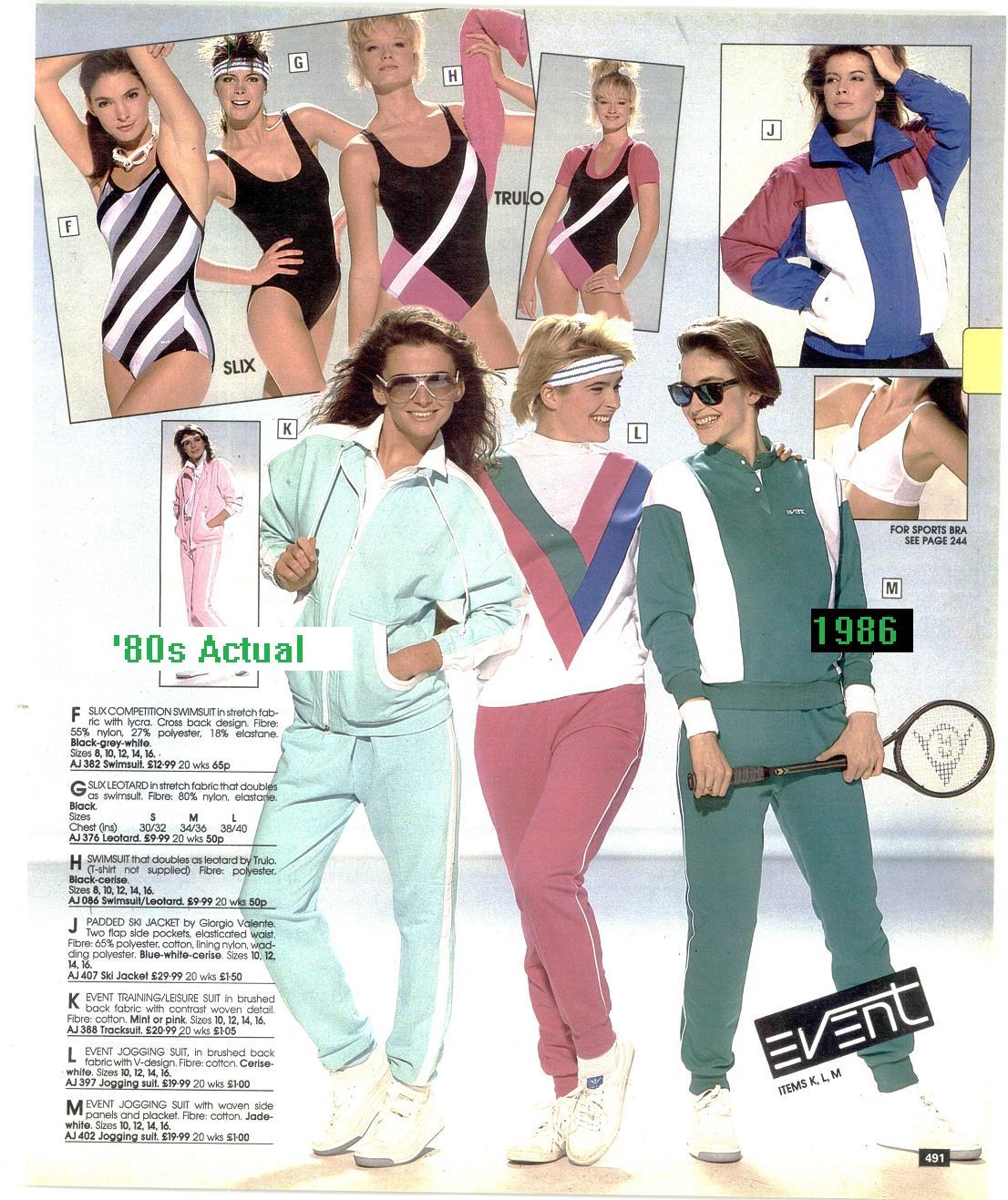 1980 fashion clothes