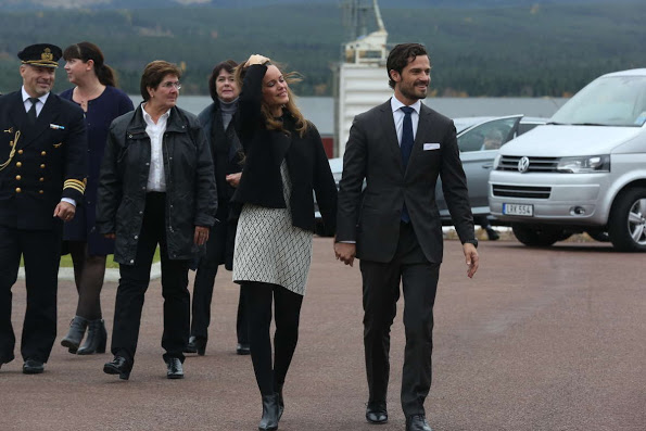 Prince Carl Philip And Princess Sofia's Visit To Dalarna, 2nd Day