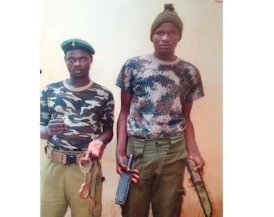 News : Police arrest security guards for impersonating soldiers in Lagos