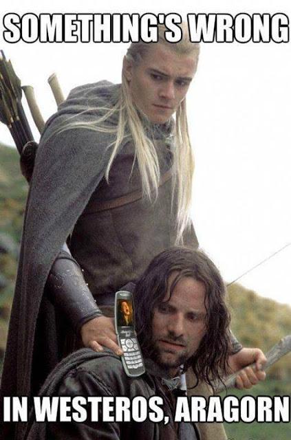 Aragorn Legolas Stark - Juego de Tronos en los siete reinos