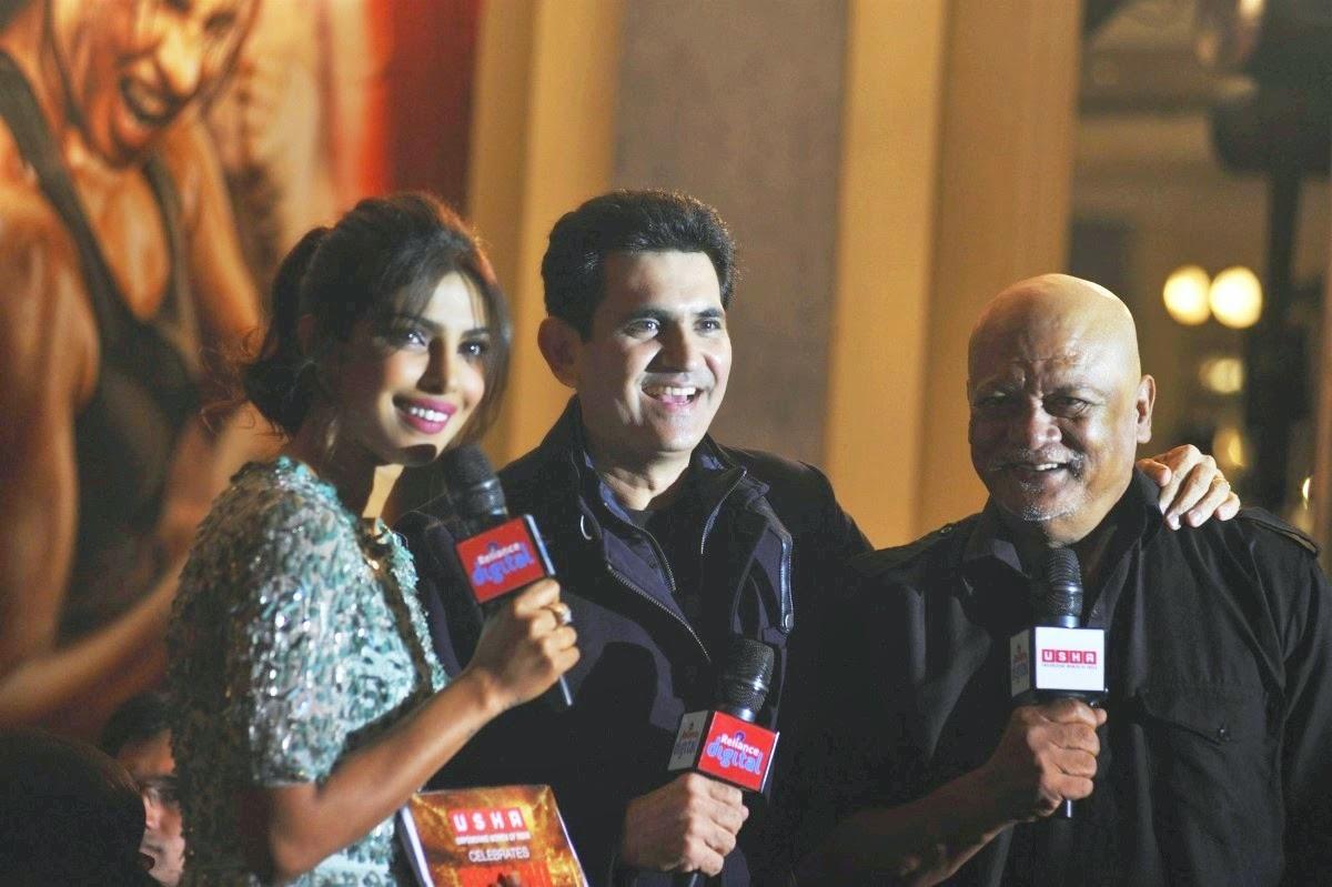 Priyanka Chopra,Omung Kumar,Sunil Thapa Mary Kom