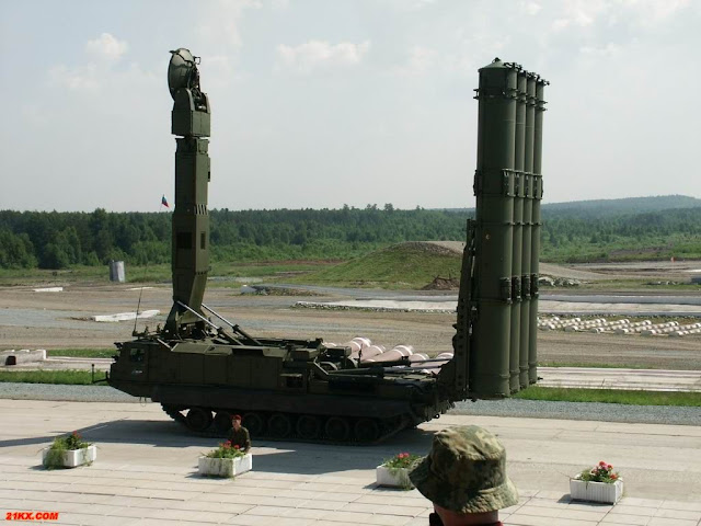 Russian S-300 anti-missile rocket system