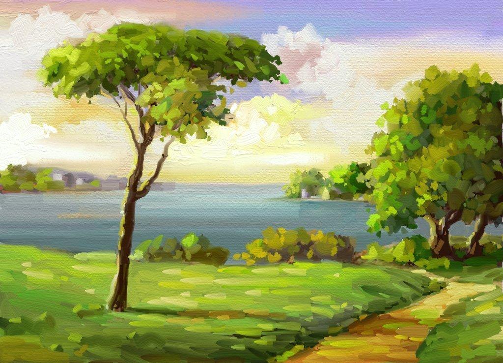 Özelikle yağli boya tablo çalişmalarinda tuval seçimi iyi