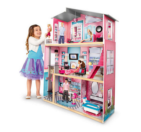 toys r us imaginarium modern luxury dollhouse free shipping on amazon ends. Black Bedroom Furniture Sets. Home Design Ideas