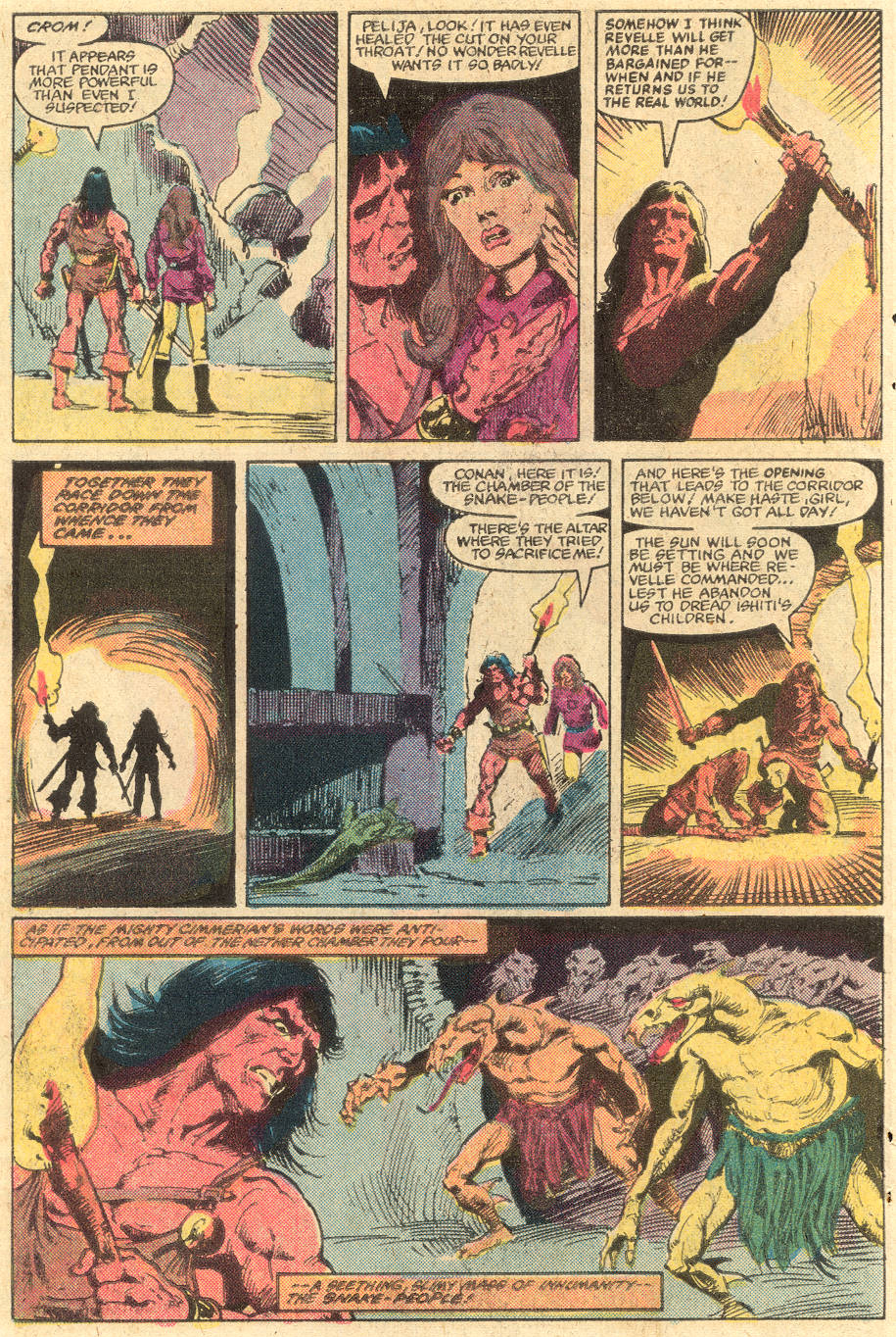 Conan the Barbarian (1970) Issue #139 #151 - English 8