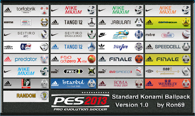 PES 2013 Ballpack v1.0 by Ron69