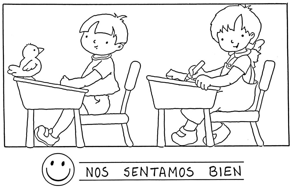 Dibujos sobre normas de convivencia en el aula - Imagui