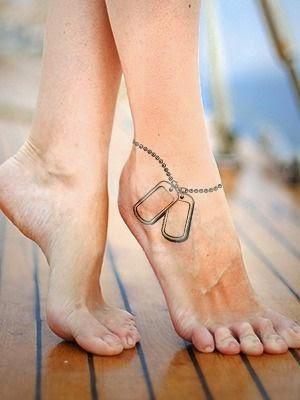 ♥ ♫ ♥ Dog tag  Army Tattoos ♥ ♫ ♥