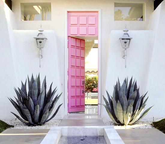 Pink Door by Moises Esquenazi