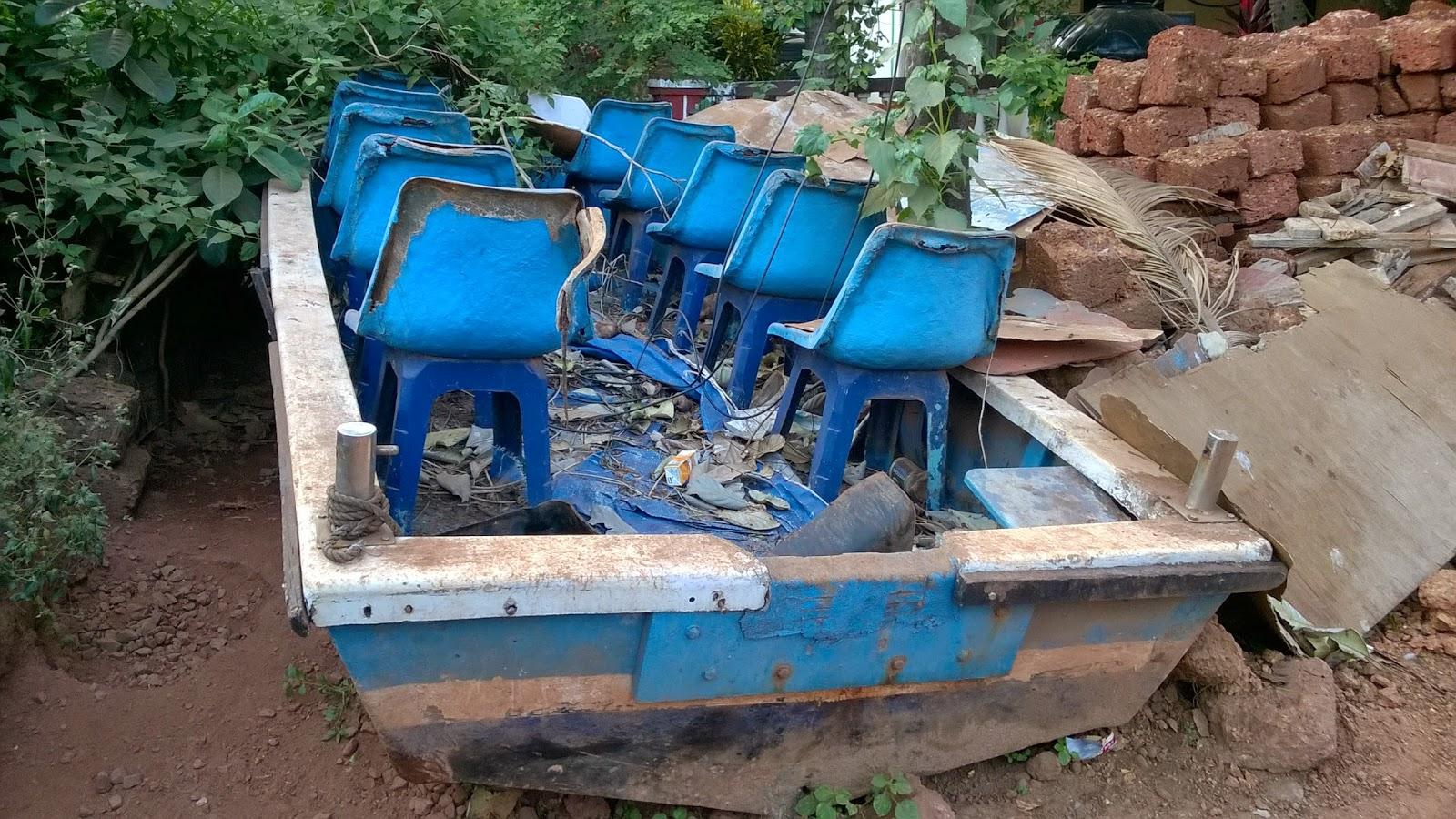 Abandoned, Boat