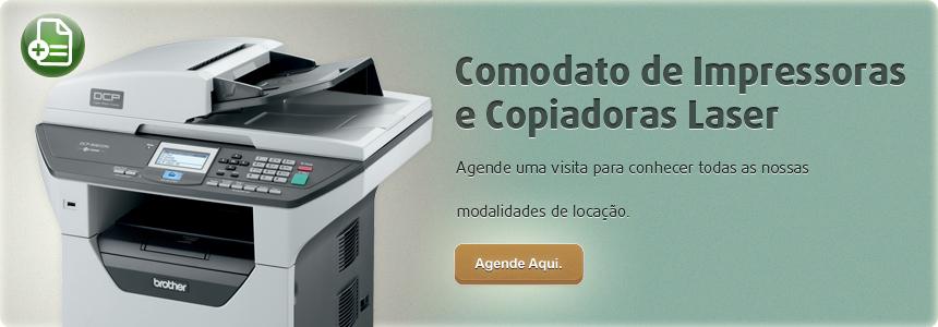 Comodato de Impressoras e Copiadoras Laser