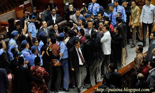 Puisi Politik : Menolak RUU Pilkada Oleh DPRD