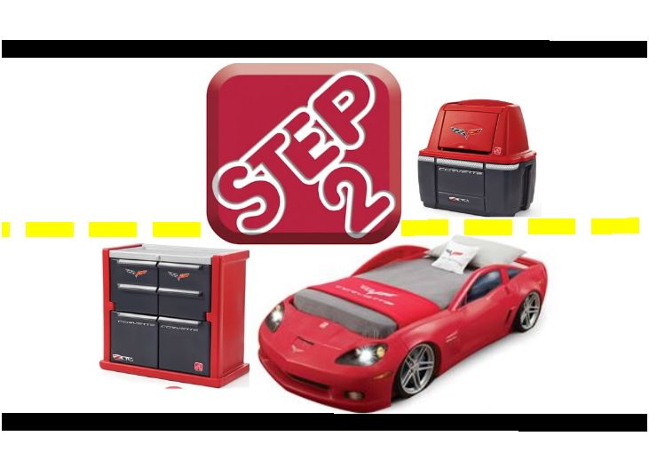 is a sandcastle new corvette bedroom thestep2company