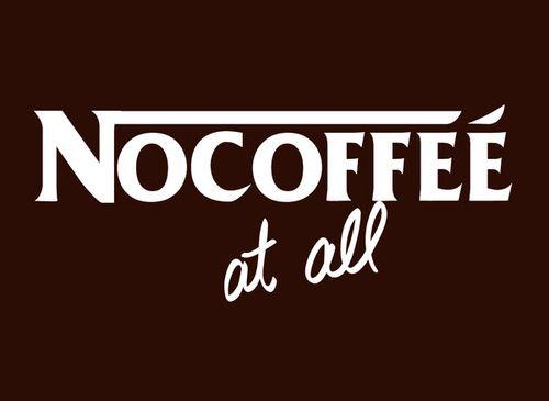 20 Logo Plesetan dari Perusahaan-Perusahaan Terkenal di Dunia: Nescafe - Nocoffe