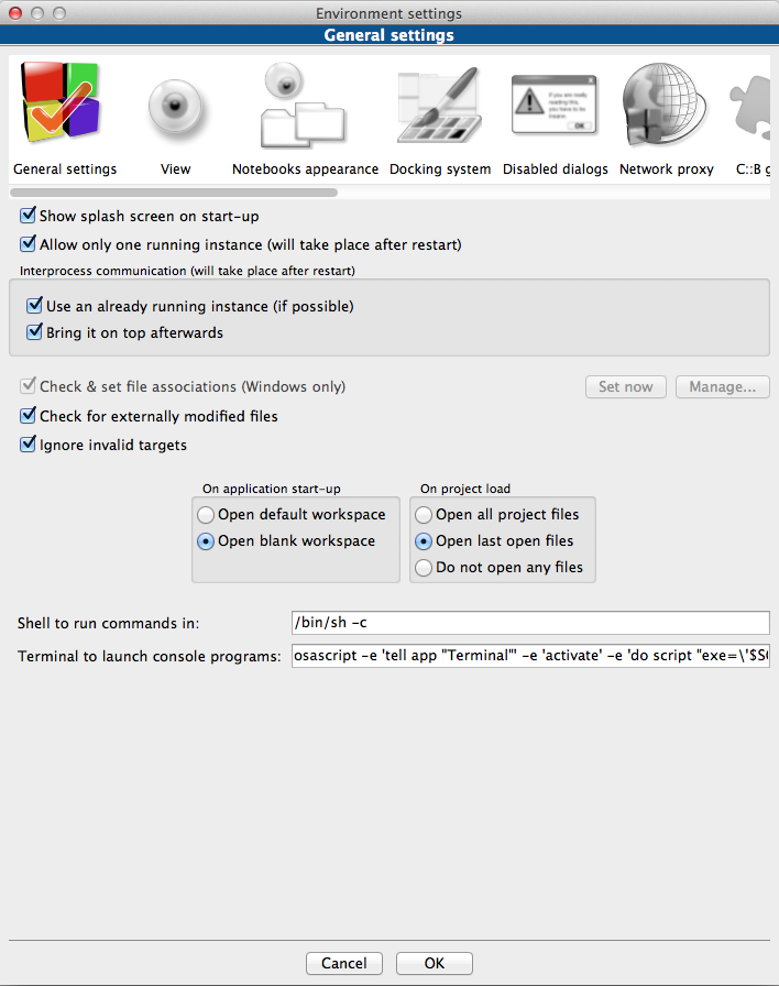 how to run a c++ program in terminal mac