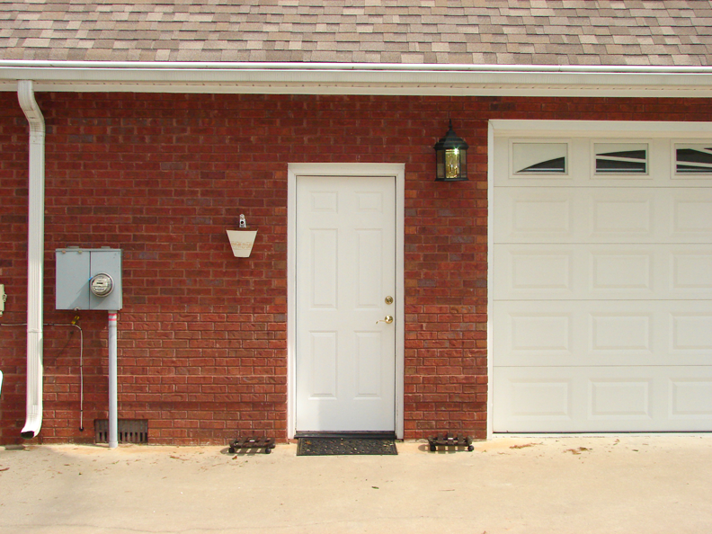 The Other Side Of Garage Doors For Garages : B e interiors garage door reveal