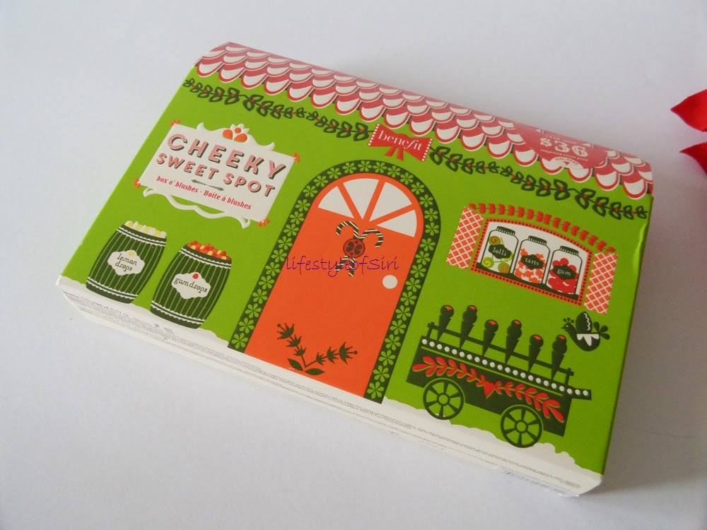 Benefit Cheeky Sweet Spot- Benefit Yılbaşı Allık Seti