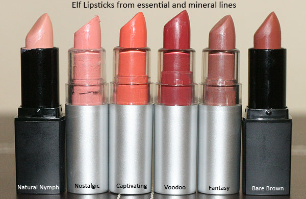 Make up thats not *Make - up*: Elf lipstick collection + swatches ...
