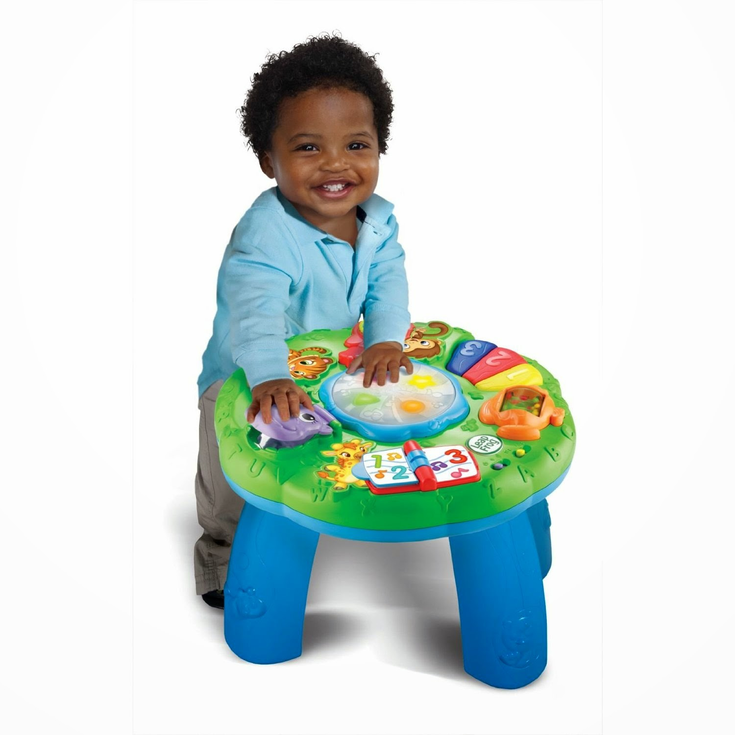 Buy LeapFrog Animal Adventure Learning Table Rs. 930 only at Amazon.