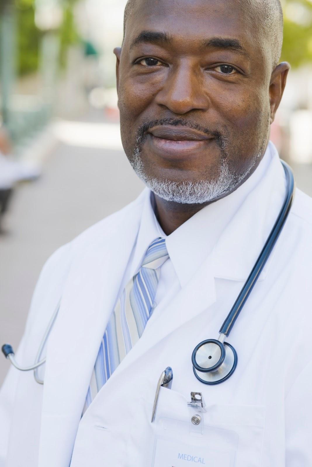 Black medical doctor.