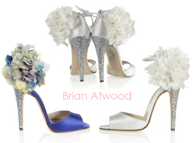 DIY Brian Atwood Flower Sandals Perfect Wedding Shoes love