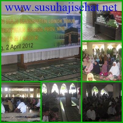 SUSU HAJI SEHAT di Kabupaten Lombok Timur