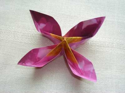 Make Easy Origami Flowers