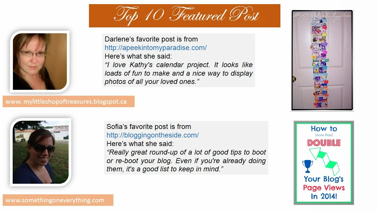 calendar project and blog tips how to double your blog pageviews in 2014