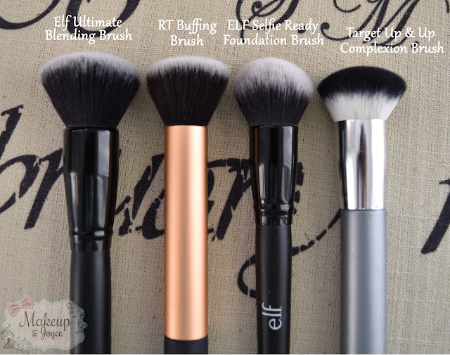 ELF Ultimate Blending Brush vs Real Techniques Buffing Brush
