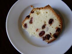 Sour Cherry Poundcake