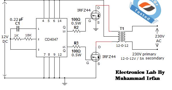 wiring diagram ac inverter wiring image wiring diagram circuit simple low power inverter 6v dc to 230v car wiring on wiring diagram ac inverter