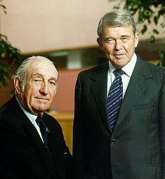 Bill Hewlett dan Dave Packard, pendiri HP