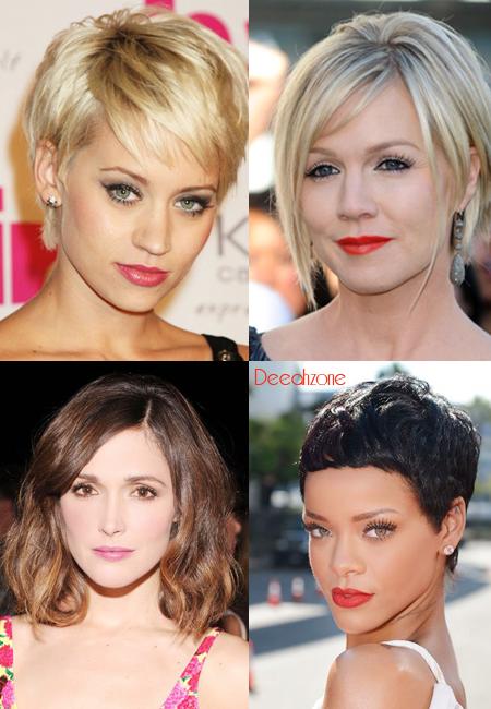 Potongan Rambut Pendek Seleb Hollywood