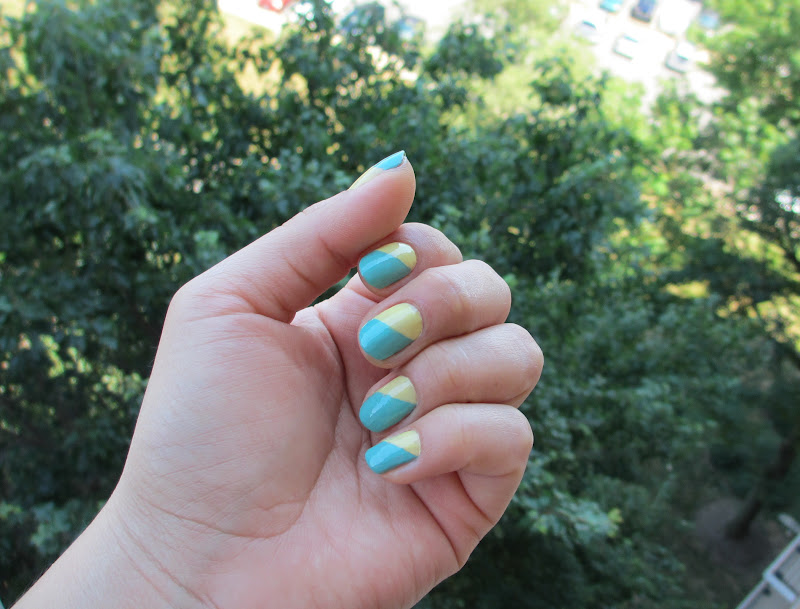 Whispering Style: Cotton Candy Nails Weekend