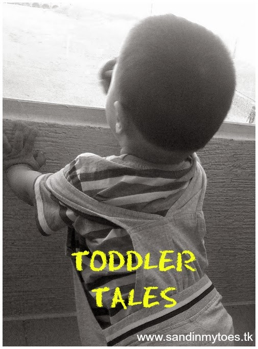 Toddler Tales - Sand In My Toes blog