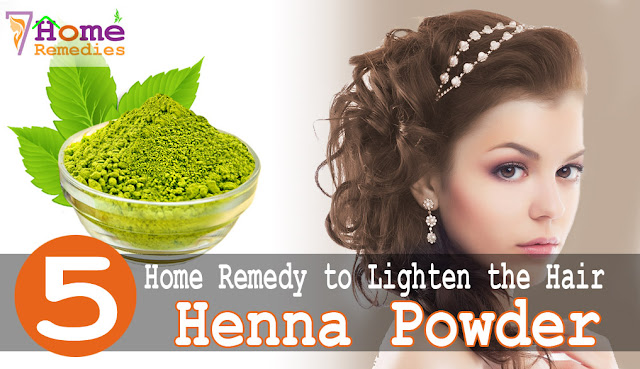 Henna Power is natural way to light hair