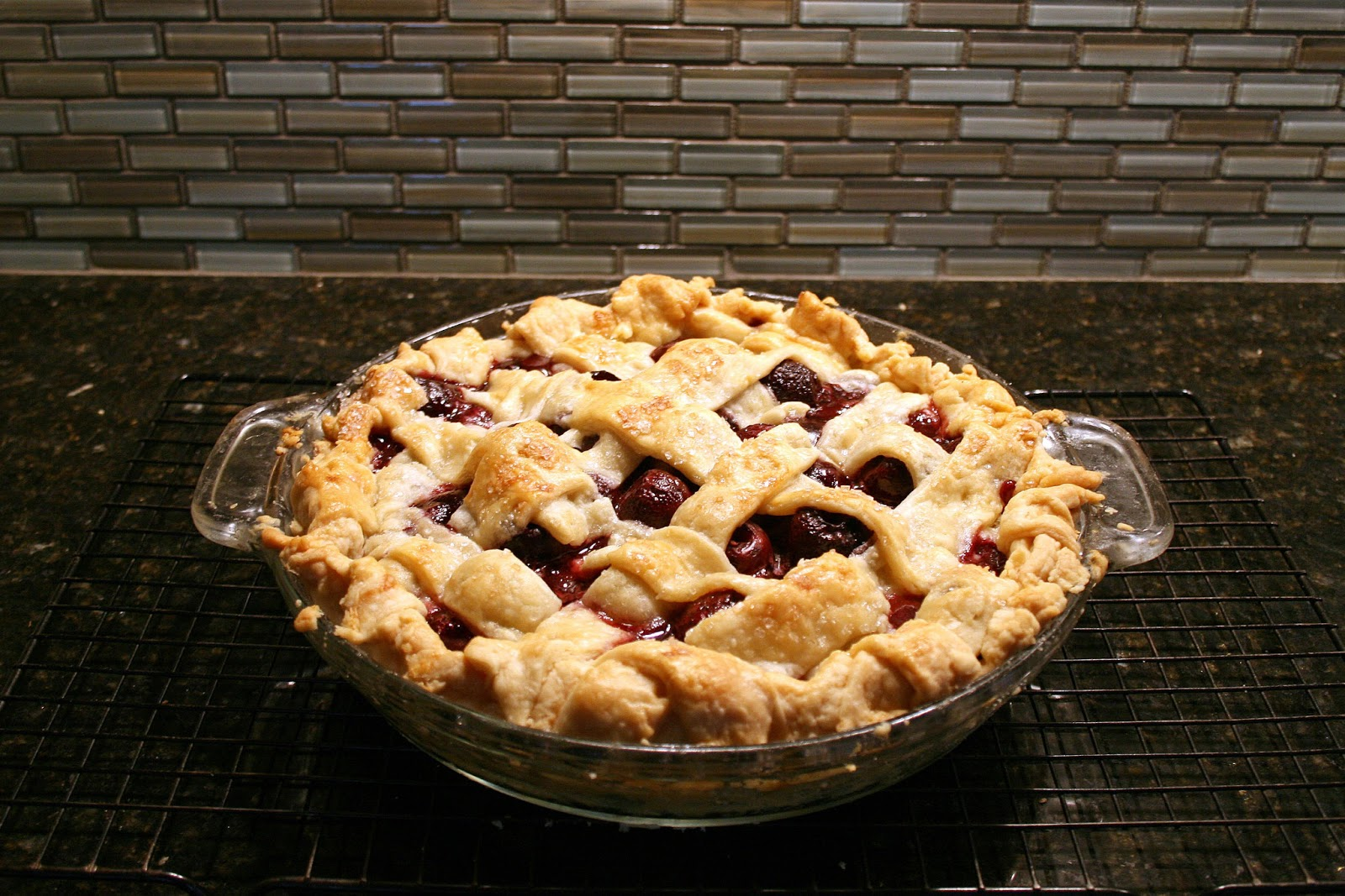 one clever mom: Sweet Cherry Pie