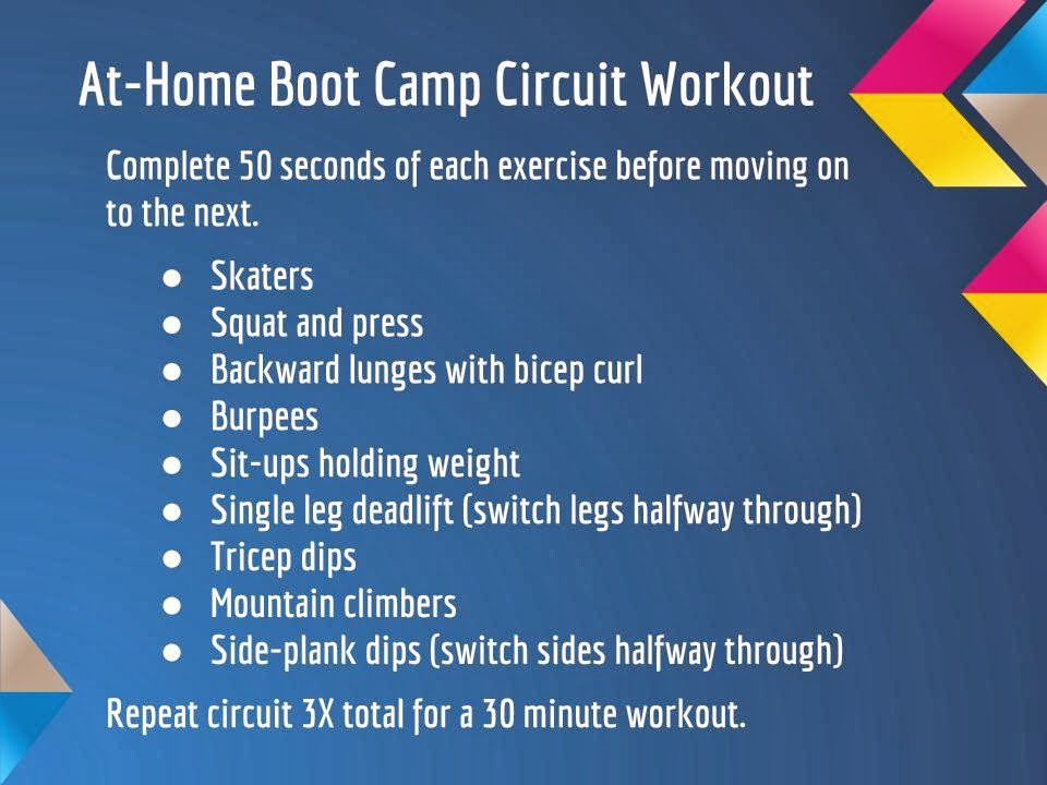 Boot Camp Workouts Liss Cardio Workout