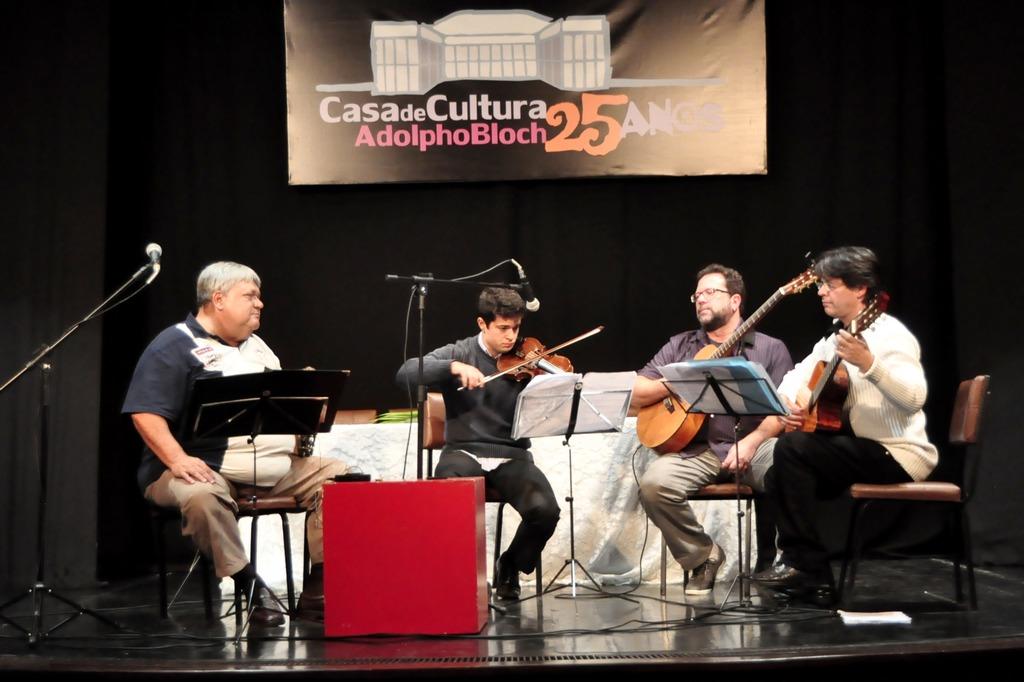 João Alfredo, Ranan Antonini, Marcos André e Geremias Cruz