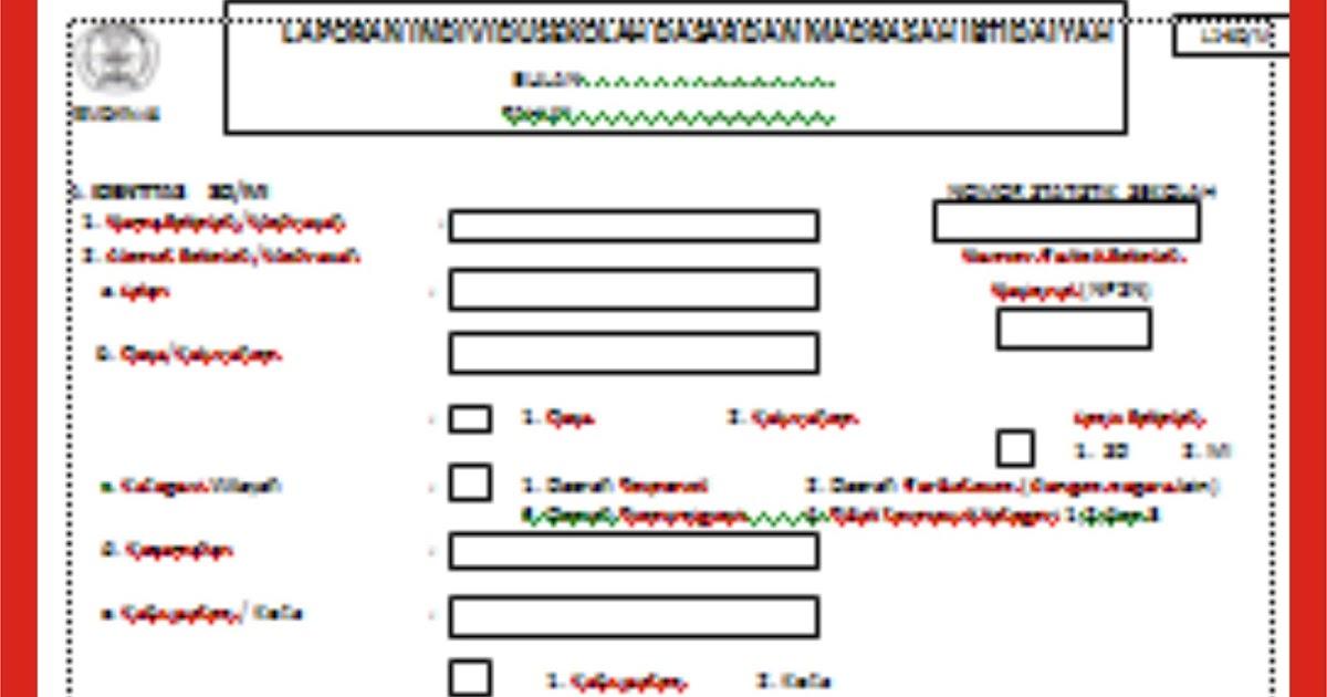 Download Format Guru Laporan Identitas Sekolah Format Guru