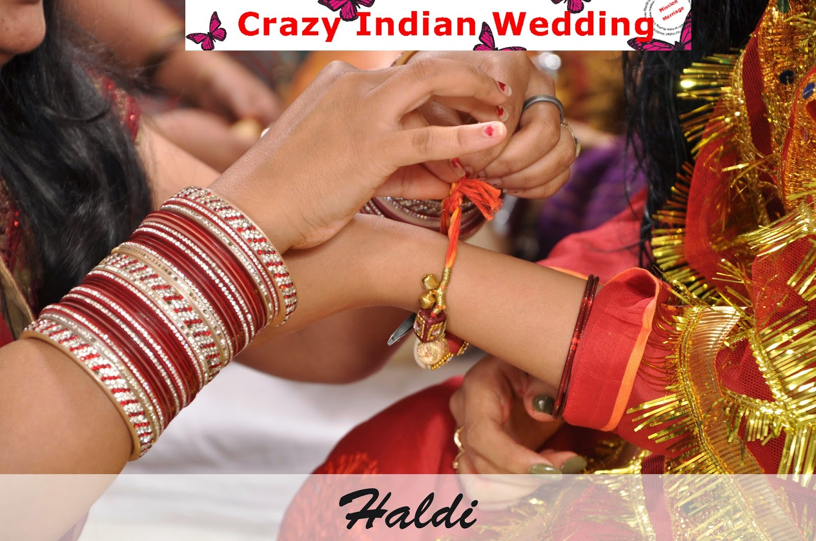 Crazy Indian Wedding Haldi
