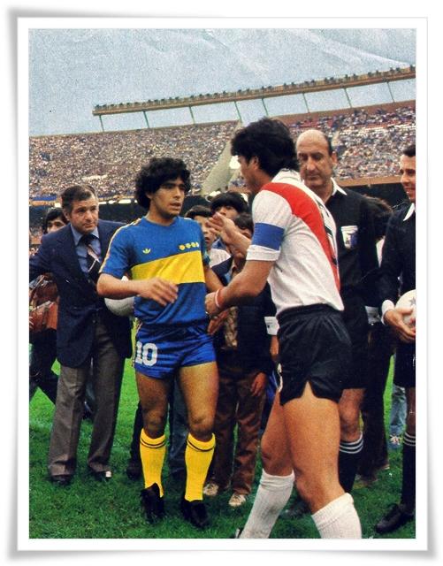 Boca Juniors lawan Jemputan Selangor XI (Januari 1982).