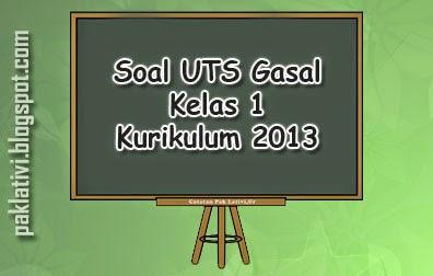 Soal UTS Gasal kelas 1