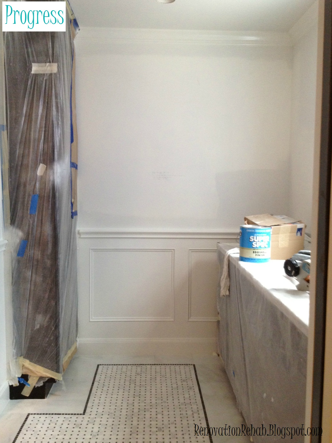 Renovation Rehab: Vintage Bathroom Remodel - Part 3